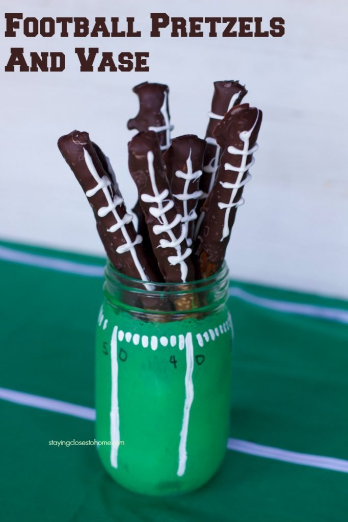 football pretzels Super Bowl Themed Recipes