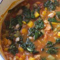 Gluten-free Minestrone Soup