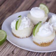 Outrageously Easy Mini Key Lime Pie Recipe