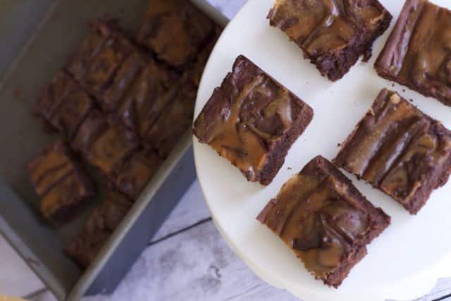 Low Fat Peanut Butter Brownie Recipe