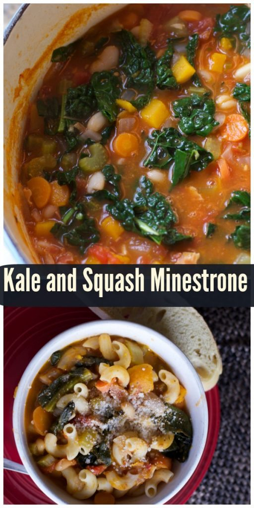 kale and squash minestrone recipe