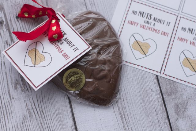 nut free valentine printable