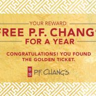 Celebrating Chinese New Year At P.F. Chang's