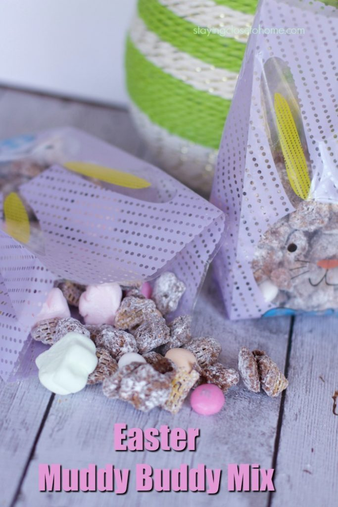 Easter Puppy Chow Recipe (AKA Bunny Bait Snack MIx)