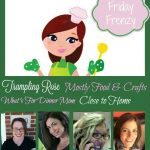 Friday Frenzy Crafts and Recipe Link up  July 8th Edition