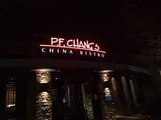 PF Changs new years