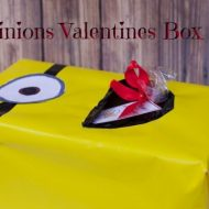 Minions Valentines Box for School