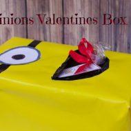 Minions Valentines Box for School