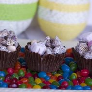 Easter Muddy Buddies Recipe or Easter Puppy Chow