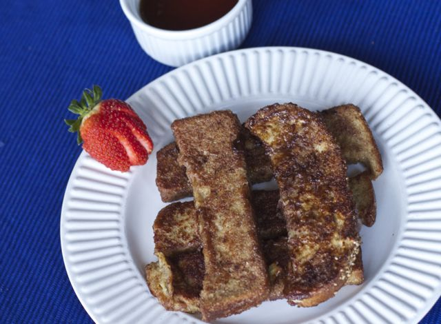 Easy French Toast Sticks Recipe