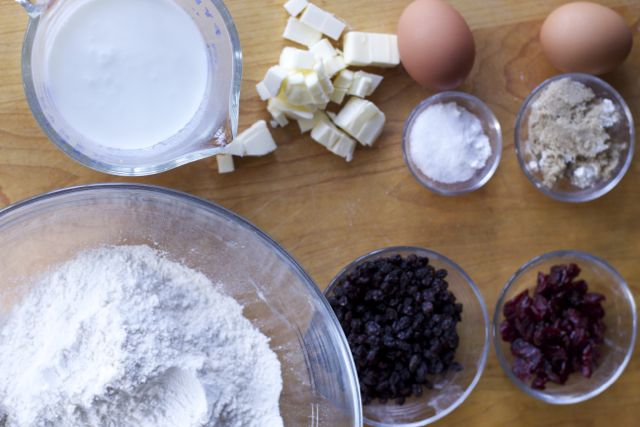 Easy Irish Soda Bread ingredients