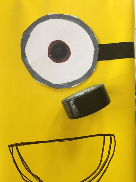 minions valentines day box