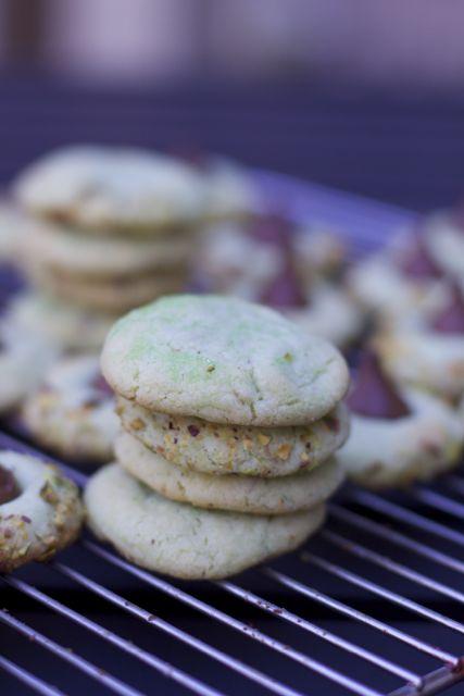 St. Patrick Day Dessert Ideas Pistachio Pudding Kiss Cookies