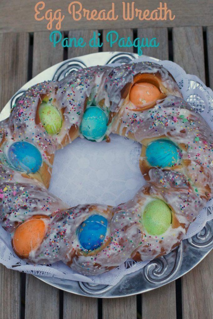 Egg Bread wreath