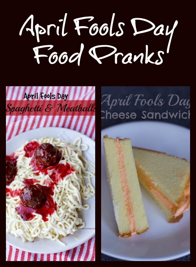 April Fools Day Food Pranks Round Up