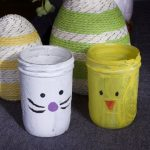 Easy Easter Vases Tutorial