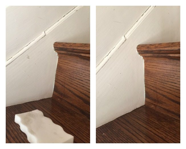 cleans stair smudges