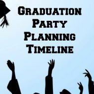 Graduation Party Planning Timeline