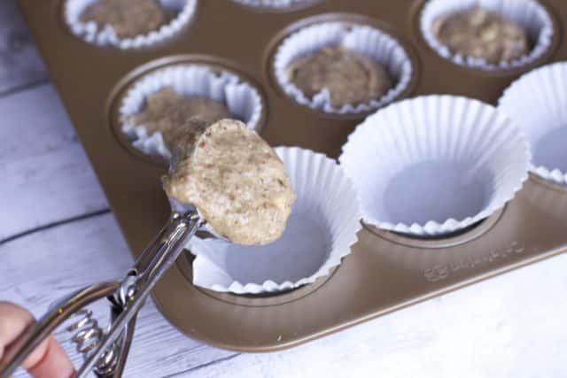 banana muffin batter
