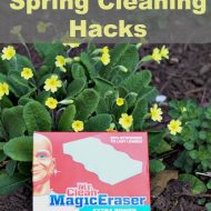 Spring Cleaning Hacks with Mr Clean Magic Eraser