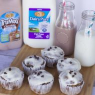 Nutritious After School Snacks: Banana Muffins with Cream Cheese Icing