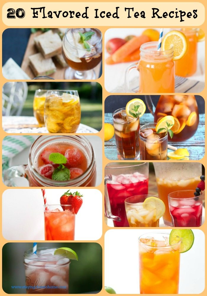 20 flavored Iced Tea recipes to keep you refreshed all summer long