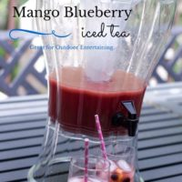 Blueberry Mango Iced Tea