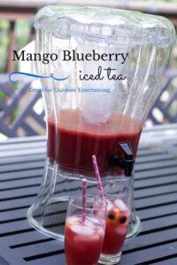 Blueberry Mango Iced Tea recipes