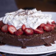 AMERICAN HERITAGE® Chocolate Strawberry Cake Recipe