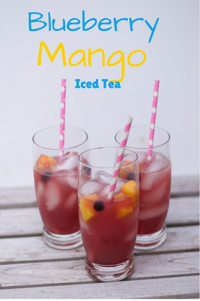 Berry-Infused Iced Green Tea Recipe — Dishmaps