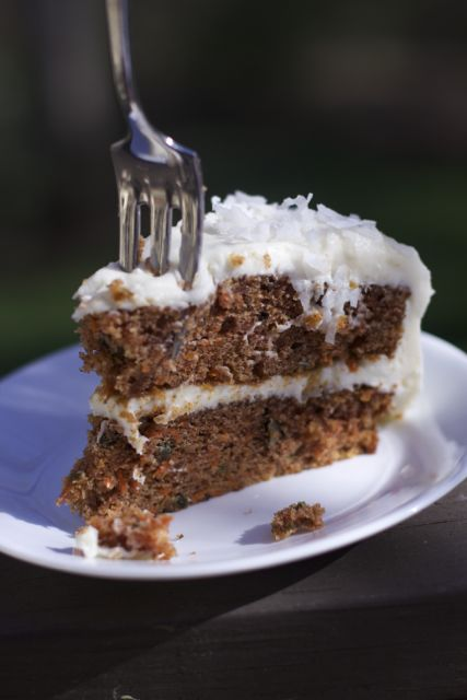 Spring or Easter Recipes  carrot cake recipe