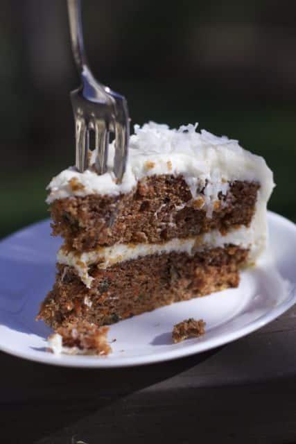Spring or Easter Recipes  carrot cake recipe