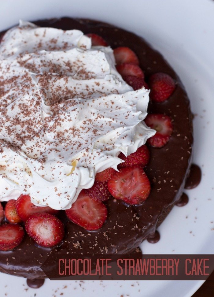 chocolate strawberry cake recipe