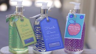 Teacher Gifts Idea: Gift soap Printable
