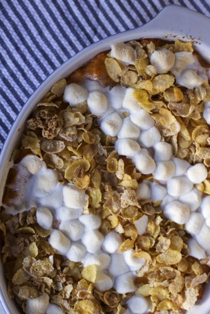 sweet potato casserole recipe Make Ahead Thanksgiving Sides