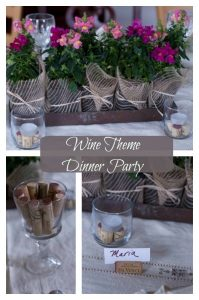wine themed dinner party
