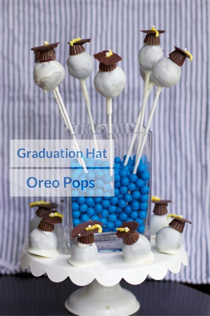 Candy Graduation CAP Oreo Balls