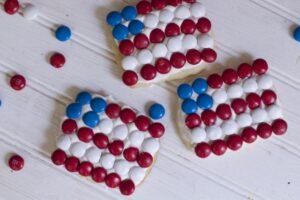flag cookies patriotic cookie ideas