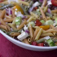 Irresistibly Easy Greek Pasta Salad Recipe
