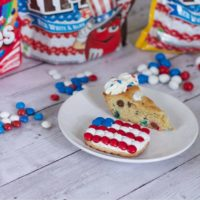 Patriotic Cookie Cake Recipe