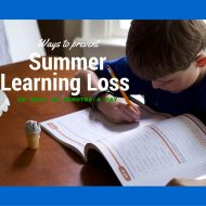Ways to Prevent Summer Learning Loss