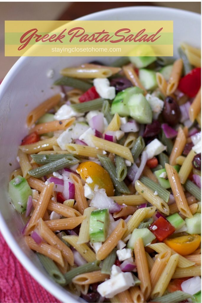 Amazing Greek Pasta Salad recipe