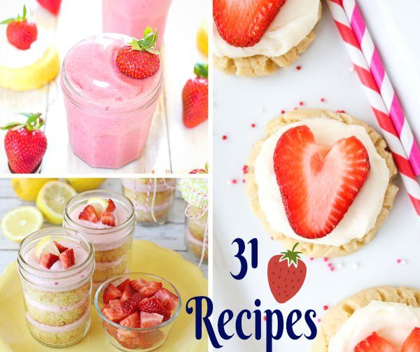 Buy a few extra pints of strawberries to make one of these 30 delicious strawberry recipes.