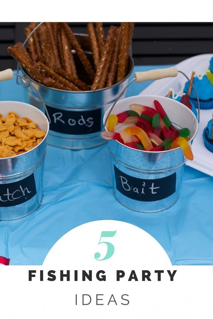Host the best Fishing Party ideas from food to fishing party party favor ideas.