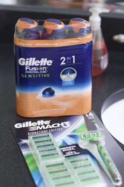 unforgettable dad/son moments with Gillette Mach3 SE gillette deals