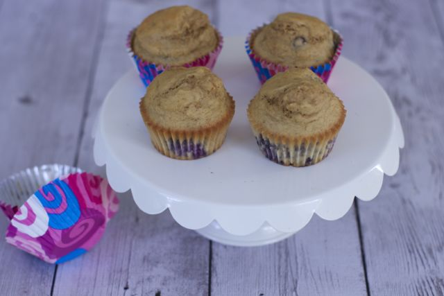 Homemade dog cake made with blueberries, cupcakes recipes