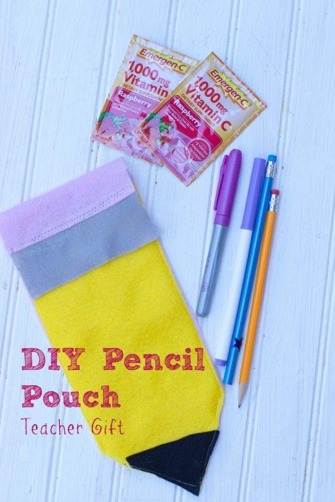 DIY teacher Gift Pencil Pouch Gift 10
