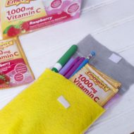 DIY Pencil Pouch-Back to School Teacher Gift
