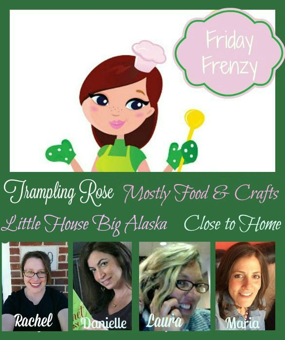 Friday Frenzy 9/16 Recipe and Craft Link UP