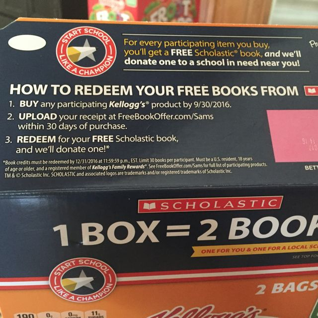 Host a back to school book swap with your kids